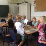 De zondagsschool is weer begonnen na de zomervakantie (18 september 2016)